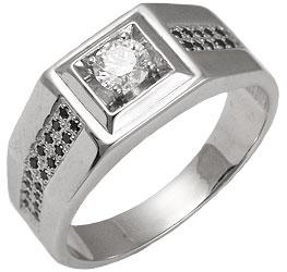 Восхитительное кольцо с центральным